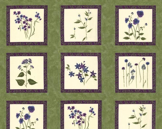 MODA, VIOLET HILL panel by Holly Taylor