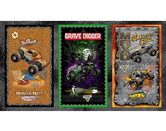 Monster Jam Tri Panel