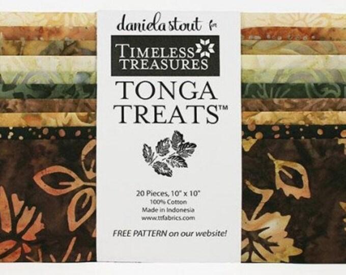 Tonga Treat- nutmeg 20 - 10 x 10 squares