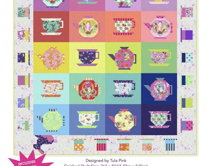 Mad Hatter Quilt Kit by Tula Pink  - PRE ORDER
