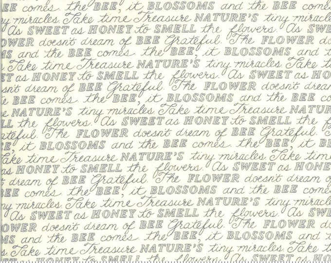 Moda, Parchment Words, Bee Grateful