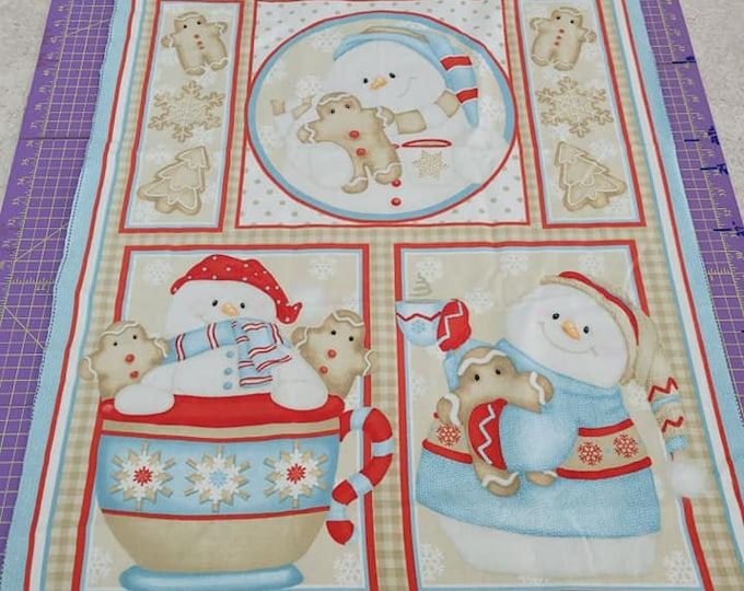 """HG Cookies & Cocoa Flannel Panel  24"""" x 36"""" Panel"""
