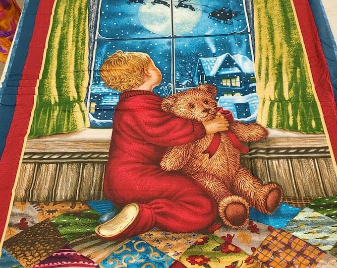 """VIP Teddys Christmas Eve 36"""" x 42"""""""