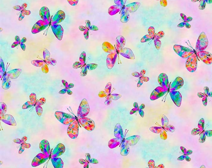 P & B Textiles All Over Butterfly