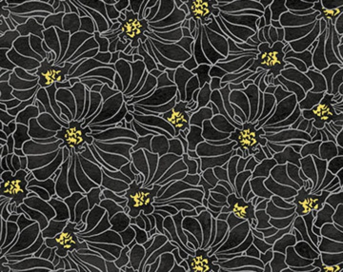 NOR, Windsong Black/Yellow Floral