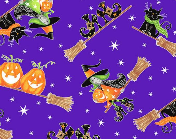 HG, Glow In The Dark Purple Witch n Pumpkin