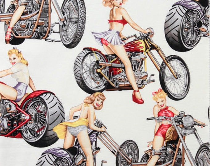 HOT WHEELS, by Alexander Henry Fabrics in Natural Color Way