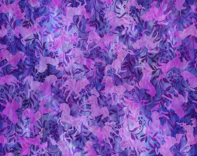 JASON YENTER, Unicorns with purple vine