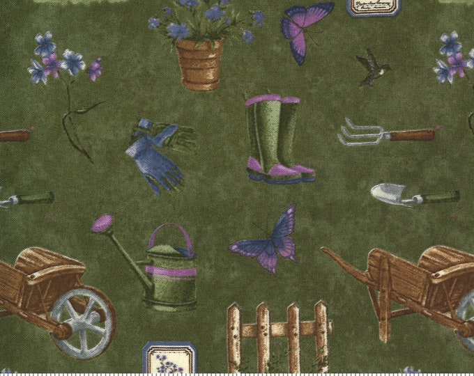 MODA, VIOLET HILL Moss Garden by Holly Taylor