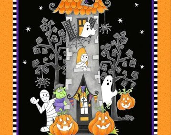 """HG, Glow In The Dark, Haunted House, 24"""" x 42"""""""
