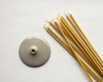 Candle Holder / Ceramic Handmade Candle Holder / Slim Candles Holder / Home decor / Contemporary / Minimalist Home decor