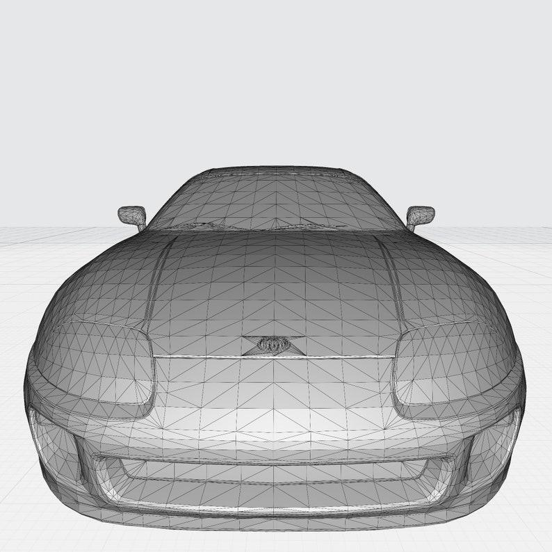 Toyota Supra 3D Model STL File Format for 3-D Printing