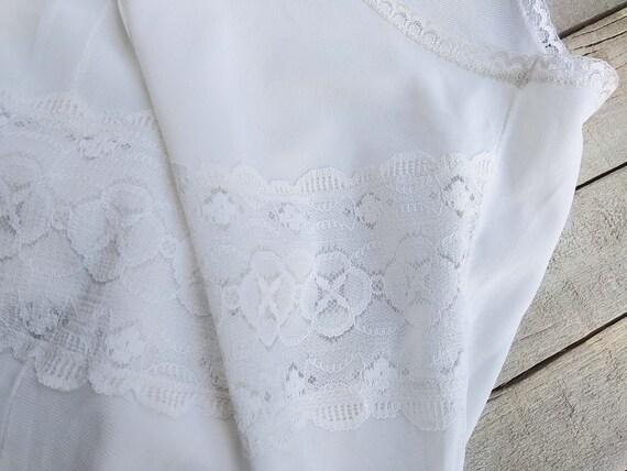 Vintage slip dress, Sexy lace nightgown, Honeymoo… - image 3