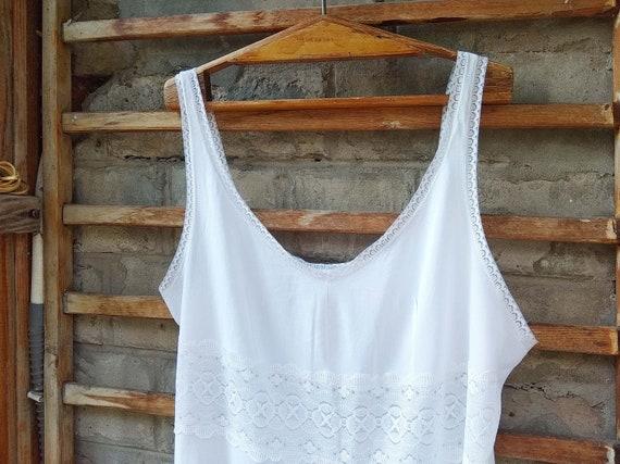 Vintage slip dress, Sexy lace nightgown, Honeymoo… - image 7