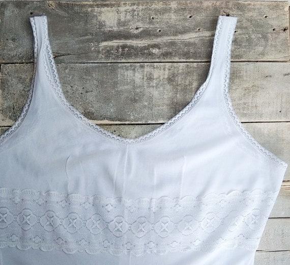 Vintage slip dress, Sexy lace nightgown, Honeymoo… - image 2