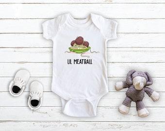 The Little Meatball Onesie \u00ae  Bodysuit