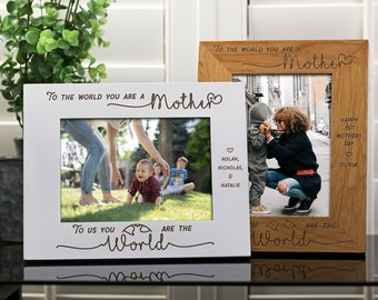 Frames for Mom Mother/'s Day Gifts GC467 Picture Frames for Mom Gifts for Her Personalized Mother/'s Day Picture Frame