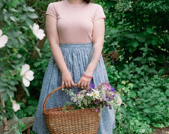 gathered skirt Lotte in the style of the 50s, like Mrs. Maisel, Vintage