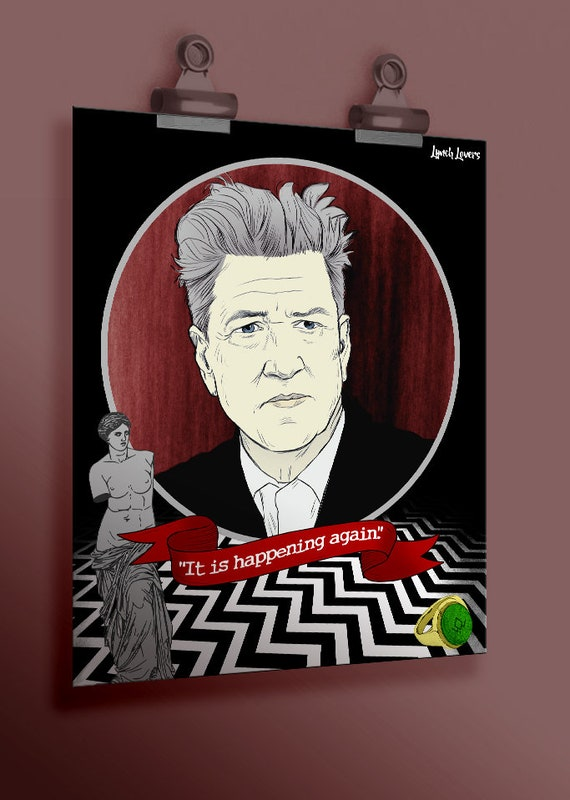 David Lynch  Poster Print