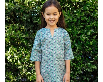 c0f041b94f Girls' Classic Tunic Cover Up in Garden Bouquet