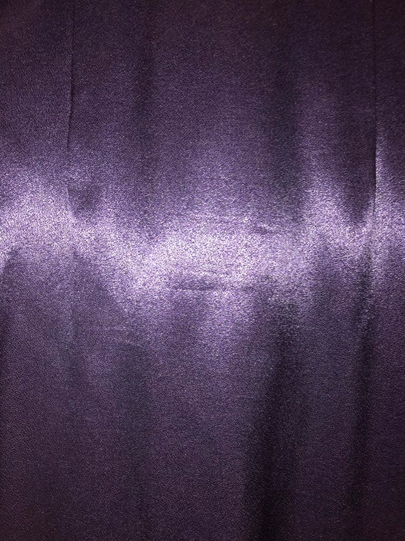 VINTAGE Purple Fredericks of Hollywood Dress & Jac