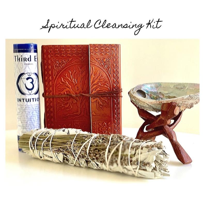 Smudge Kit  Smudge Kit Bundle Spiritual Cleansing Kit image 0