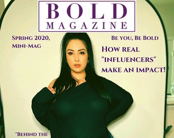 """Bold Magazine, Spring 2020: """"Real Influencers"""" - Physical Copy"""