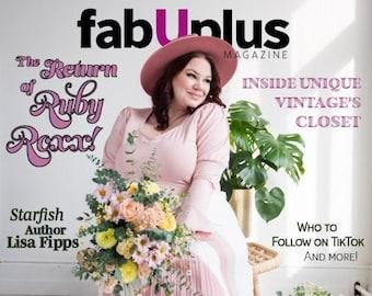 fabUplus Magazine, Spring 2021: The Return of Ruby Roxx! - Physical Copy