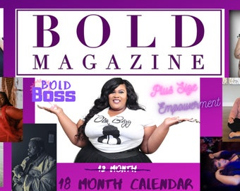 Bold Magazine Bold Bosses Calendar - 18 Months of Empowerment