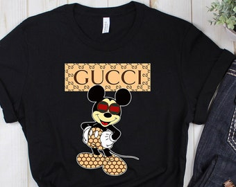 99aa9846 Gucci shirt - mickey mouse Gucci - Funny Shirt - disney - Gucci - Gucci  Tshirt- Mickey shirt - Desny t shirt