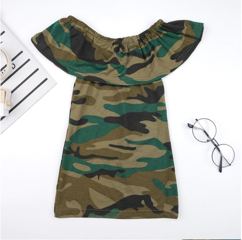 Baby clothes Baby girl dresses Baby girl dresses special occasion Baby girl clothes Army Camouflage Print Baby girl outfits