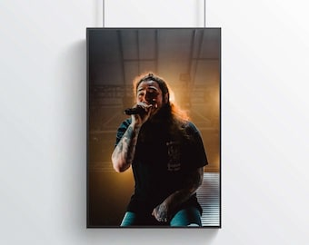 Post malone poster   Etsy