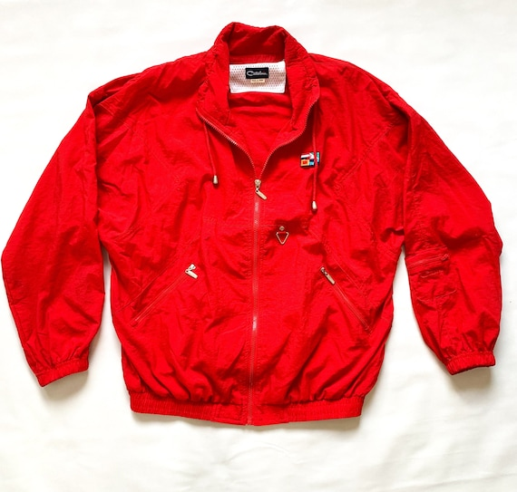 Vintage 1990's Red Catalina Sailing Jacket
