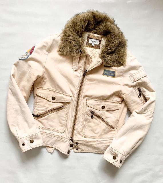 Vintage 1990's PEPE JEANS Ladies Jacket