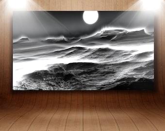 "Mural acrylic glass ""Mars"""
