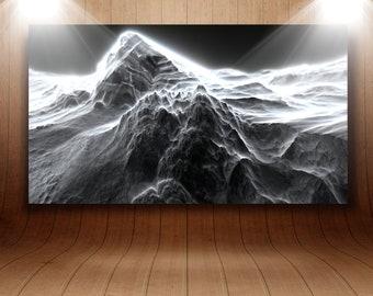 "Mural acrylic glass ""Volcano"""
