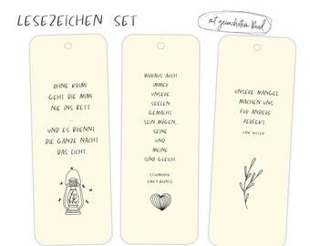 Bookmarks, Set, Literature