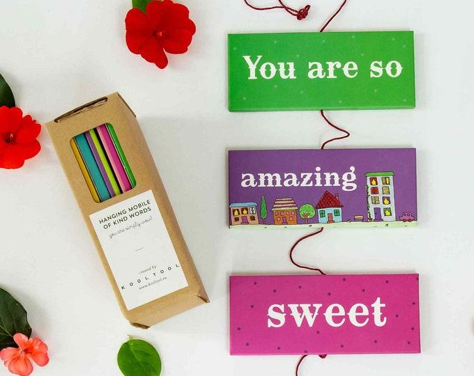 Kind Words hanging Mobile | Decorative Mobile |