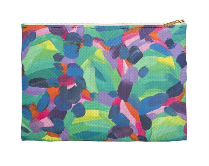 FLOW Makeup Cosmetic Accessory Pouch | Fun Gift Idea