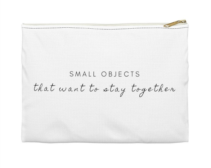 SMALL OBJECTS Accessory Pouch
