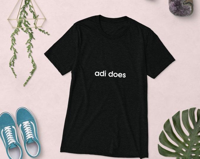 Short sleeve t-shirt | adi does