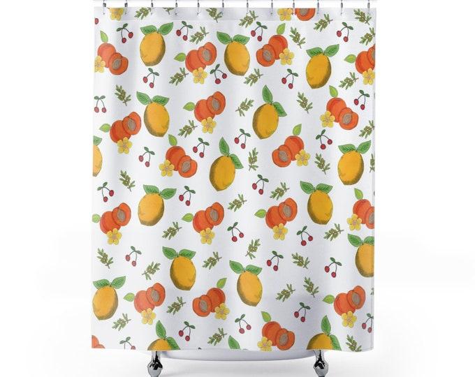 FRESH LEMONS Shower curtain