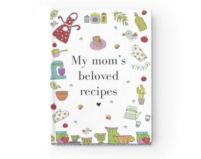 MOM'S RECIPES Journal