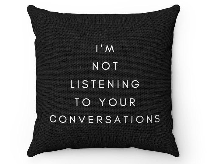 LISTENING Pillow