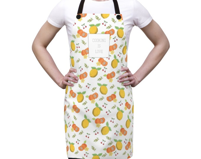 COOKING IS LOVE /// Apron