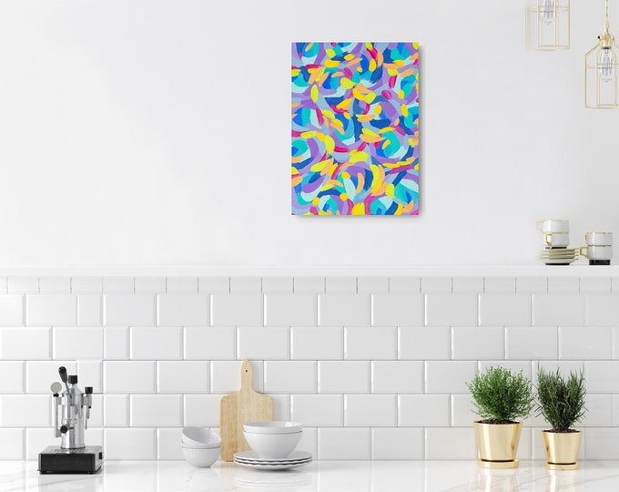 Original Canvas painting 30 x 40 cm FREE SHIPPING