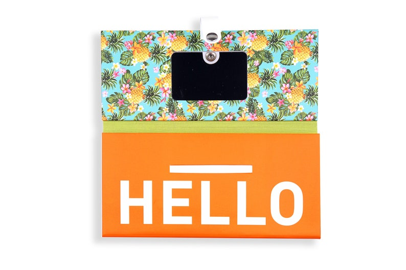 TRIP KIT Sweet Ananas  Traveling wallet  Traveling accessories  Passport covers  Luggage tags