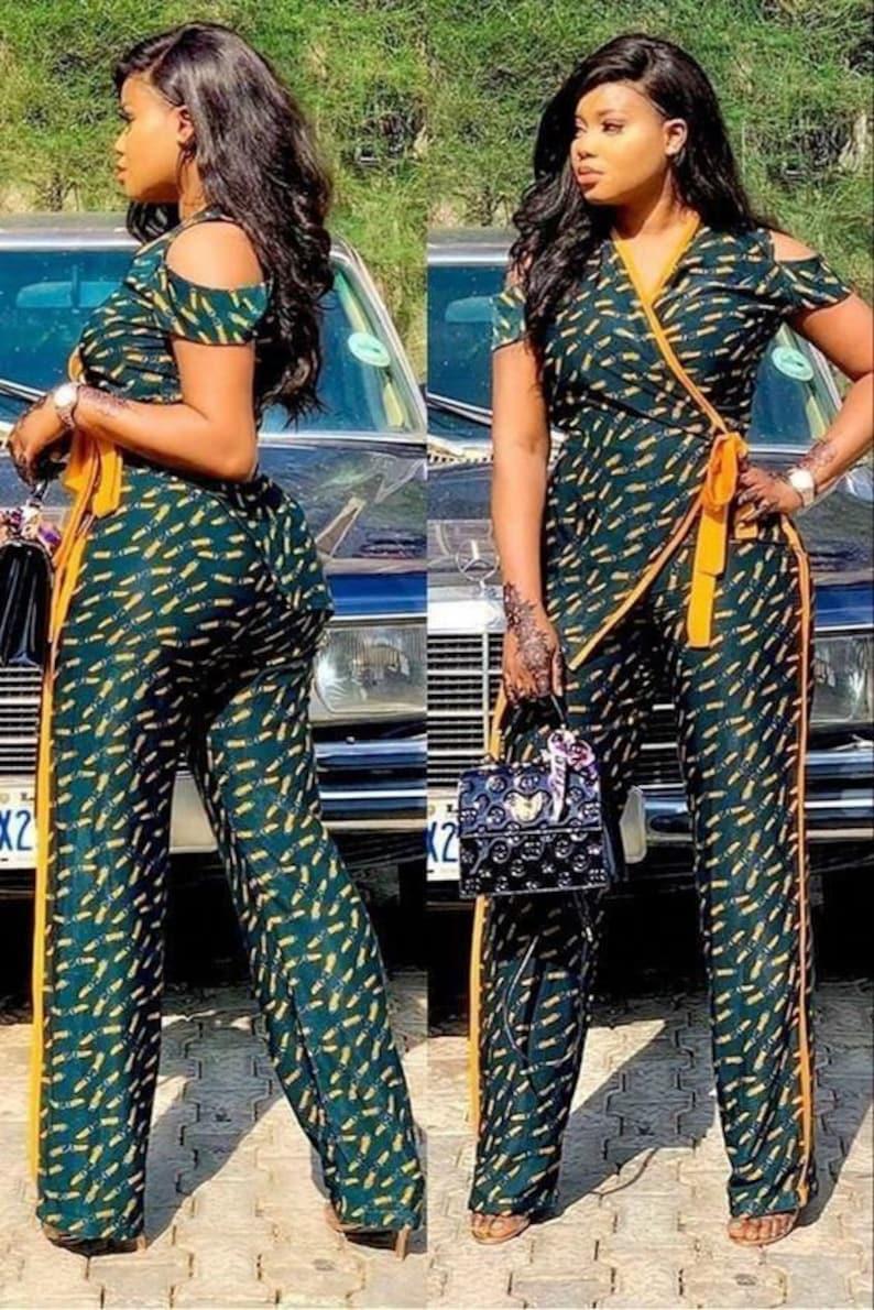 African women dress African ankara touch dashiki gown image 0