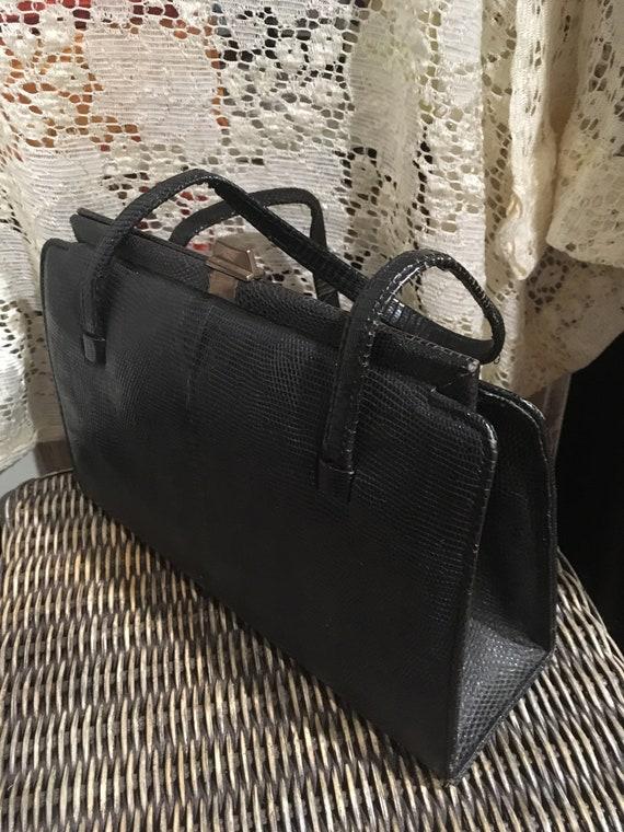 1940's Snakeskin Handbag