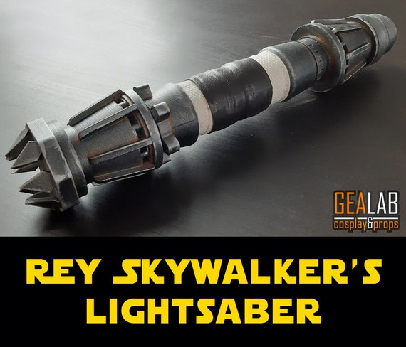 finished cosplay ready painted Rey\u2019s lightsaber